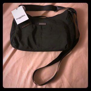 NWT Baggallini Dark Grey Crossbody Bag